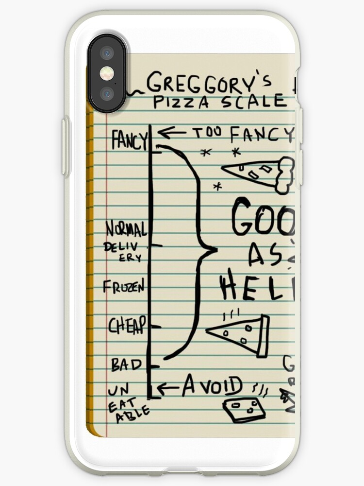 greggory s pizza scale iphone cases covers by wizard llama