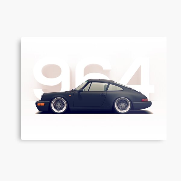 Porsche 964 Metal Print