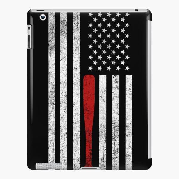 USA Flag Themed Baseball Bat Fans T-Shirt - Gift for Baseball Players & Fans iPad Snap Case