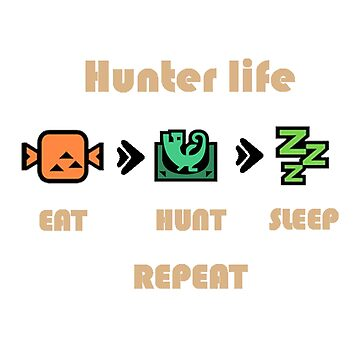 Monster Hunter Hunters life by Crazywowguy