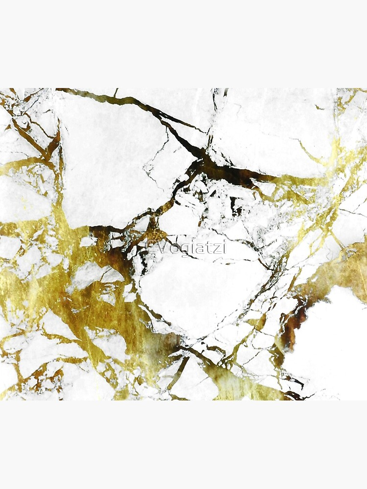 Gold-White Marble Impress by CVogiatzi