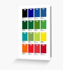Waitrose greeting cards redbubble supermarket colours greeting card m4hsunfo