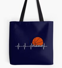HEARTHBEAT BASKETBALL Tote Bag
