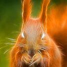 Demon Squirrel by seawhisper