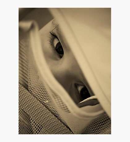I CAN SEE YOU....(CURIOSITY) Photographic Print