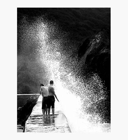 A Wee Splash Photographic Print