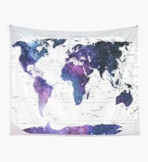 Tela decorativa ALLOVER THE WORLD-Galaxy map