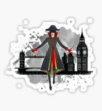 Lila Bard - Shades of Magic Sticker