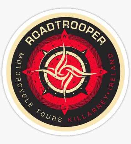 RoadTrooper Motorcycle Tours Killarney Ireland Sticker Sticker