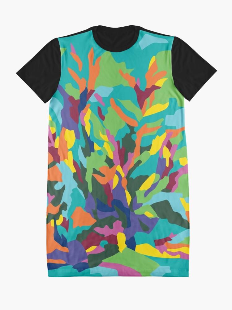 Alternate view of Tropic Paradise Graphic T-Shirt Dress
