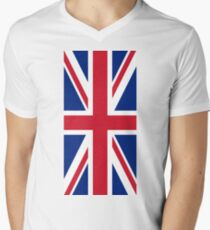 Union Jack Men's V-Neck T-Shirt