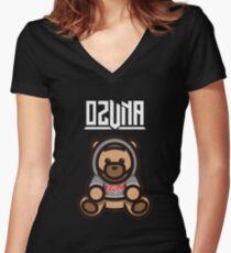 Ozuna Se Preparo Trap Reggaeton Latino  Women's Fitted V-Neck T-Shirt