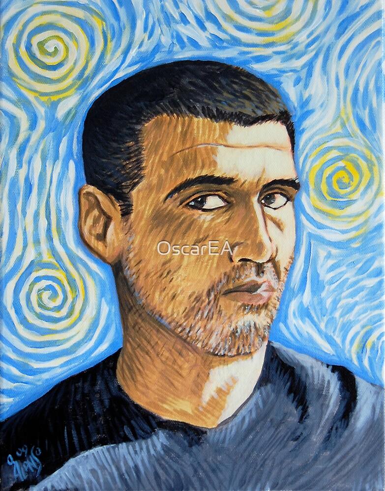 My Van Gogh self portrait by OscarEA