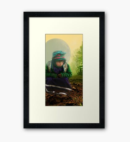 where my way 2 *Popular Wall Art and Greeting Cards (30 day) 2009 03 11* Framed Print