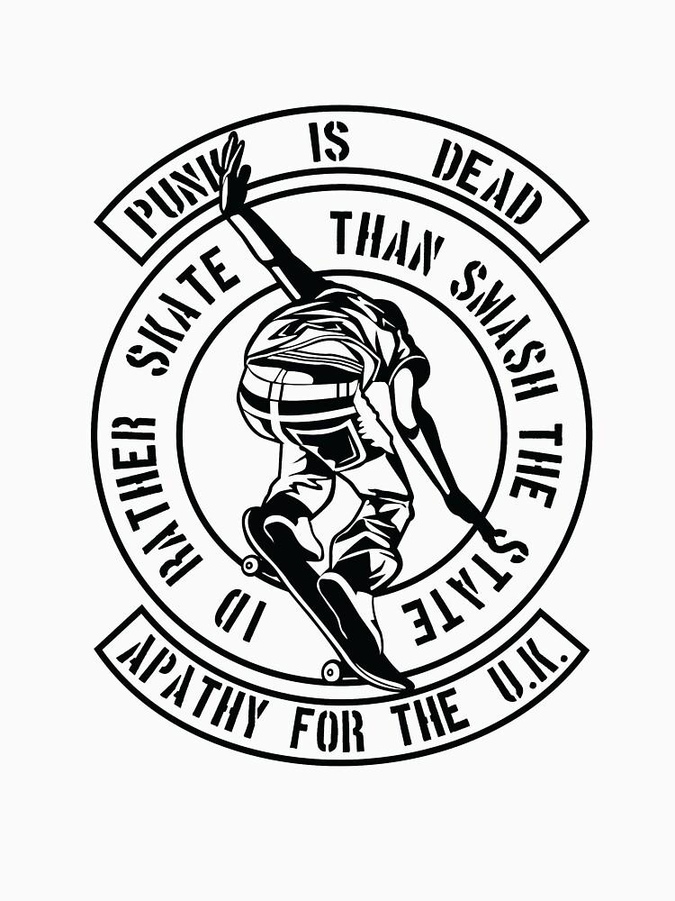 Punk Is Dead - I'd Rather Skate by PunkGrandad