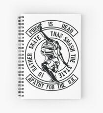 Punk Is Dead - I'd Rather Skate Spiral Notebook