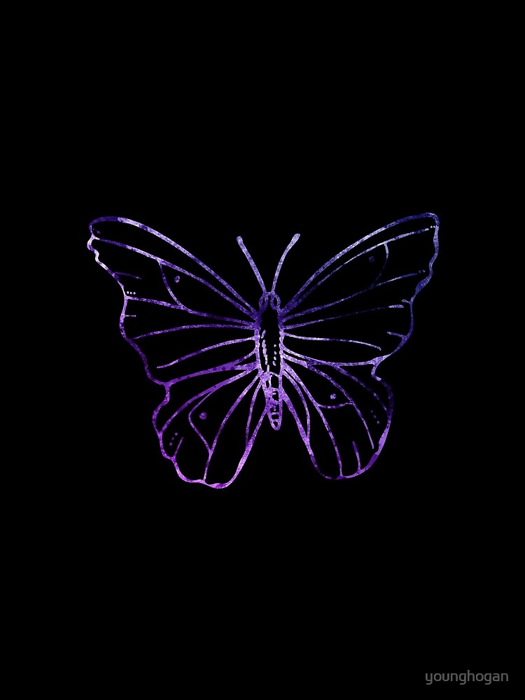 Simple Butterfly von younghogan