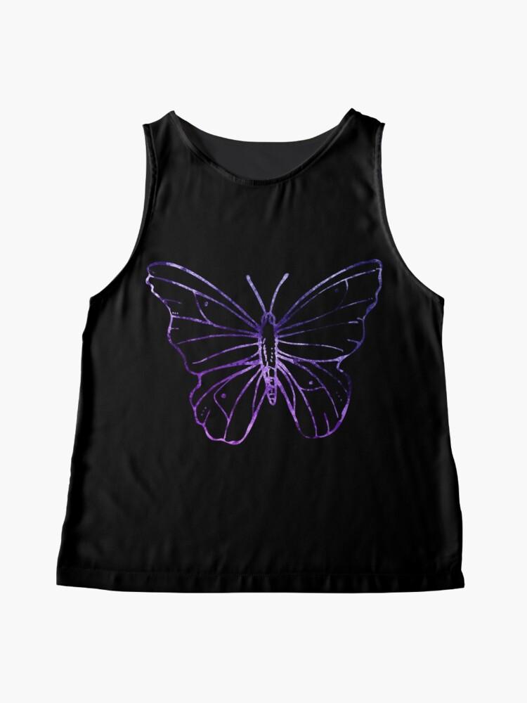 Alternative Ansicht von Simple Butterfly Ärmelloses Top
