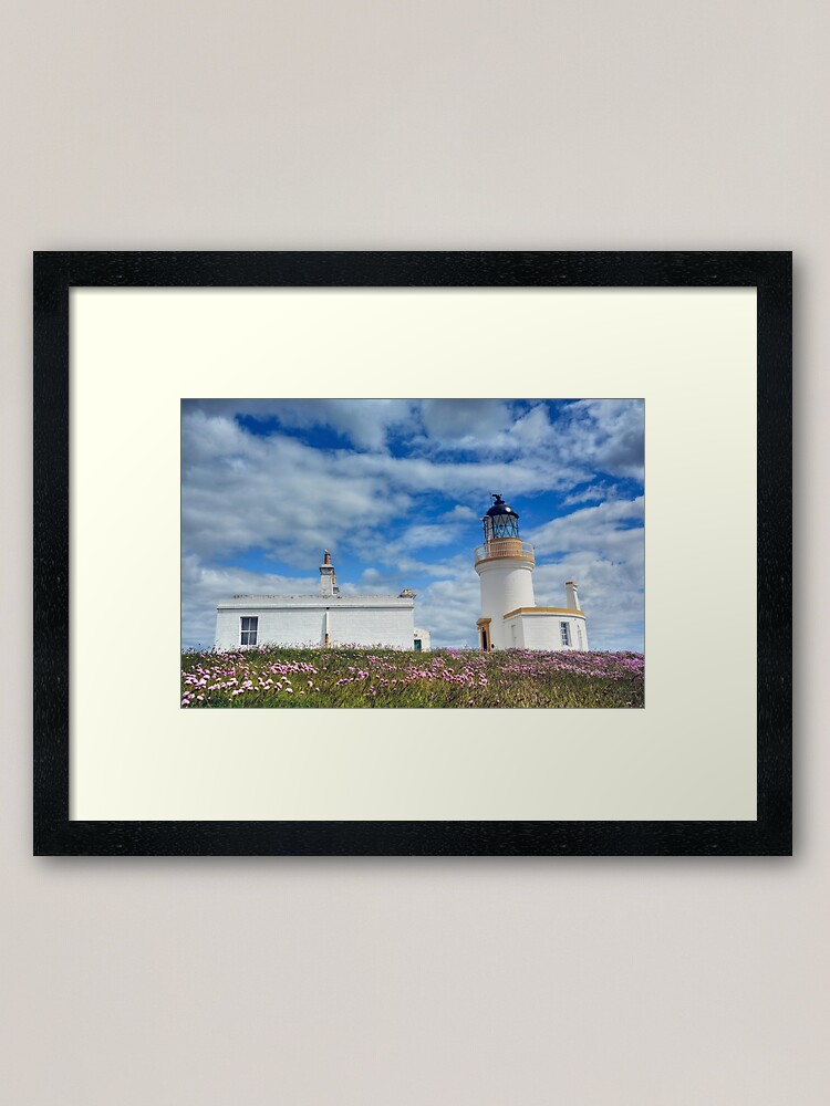 Alternate view of Chanonry Lighthouse, The Black Isle, Scotland Framed Art Print