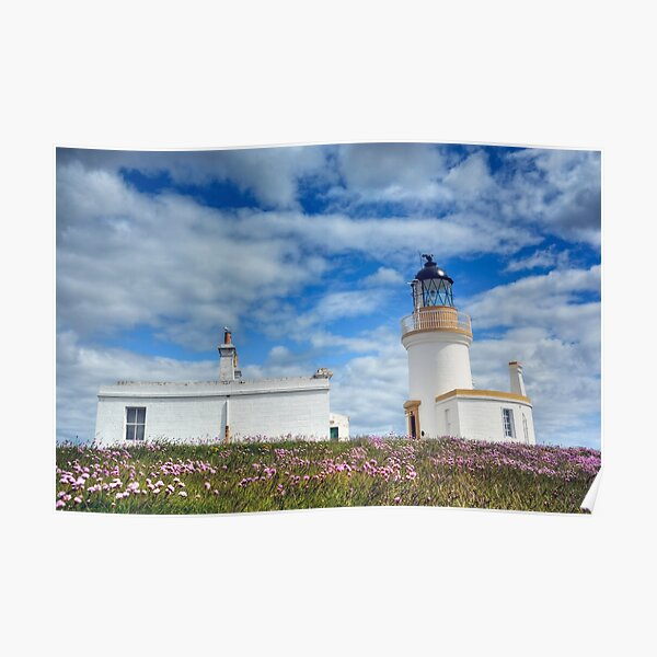 Chanonry Lighthouse, The Black Isle, Scotland Poster