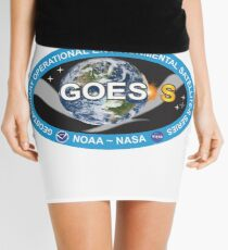 GOES-S Logo Mini Skirt