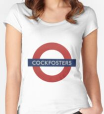 Cockfosters Women's Fitted Scoop T-Shirt