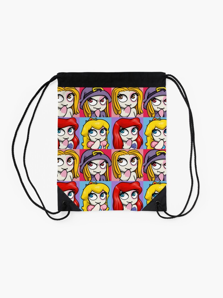Alternate view of GoEaSyTwitch 3ccinedition Drawstring Bag