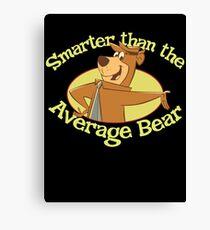 Yogi Bear Smarter Than The Average Bear Canvas Print