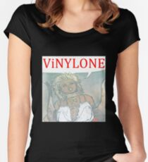 Vinylone color Aria Big Women's Fitted Scoop T-Shirt