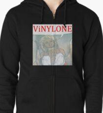 Vinylone color Aria Big Zipped Hoodie