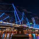 Kurilpa Bridge from Below by MichaelJP