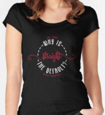 LOVE, SIMON / SIMON VS THE HOMO SAPIENS AGENDA: WHY IS STRAIGHT THE DEFAULT? Women's Fitted Scoop T-Shirt