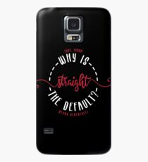 LOVE, SIMON / SIMON VS THE HOMO SAPIENS AGENDA: WHY IS STRAIGHT THE DEFAULT? Case/Skin for Samsung Galaxy