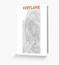 Vinylone watermark Aria Greeting Card