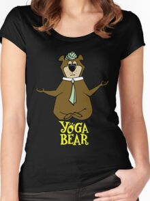 Yogi Bear Yoga Women's Fitted Scoop T-Shirt