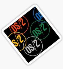 IBM OS/2 Logo Sticker