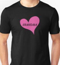 I Love Grandma - Grandma Heart Tee Unisex T-Shirt
