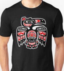 Alaskischer Adler Slim Fit T-Shirt