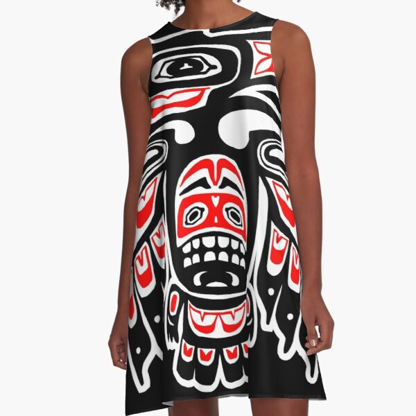 Alaskan Eagle A-Line Dress