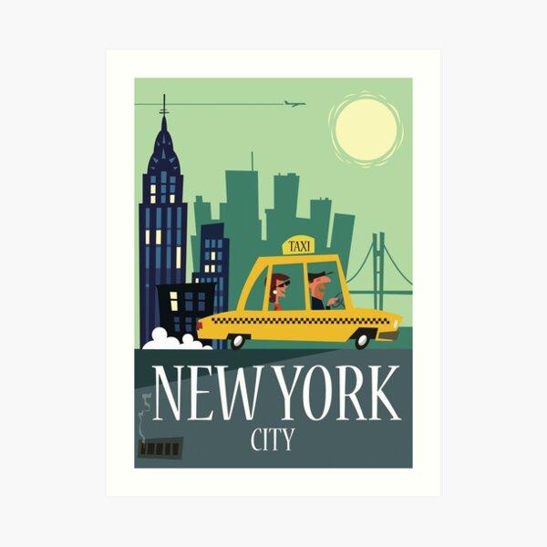 NYC poster Art Print