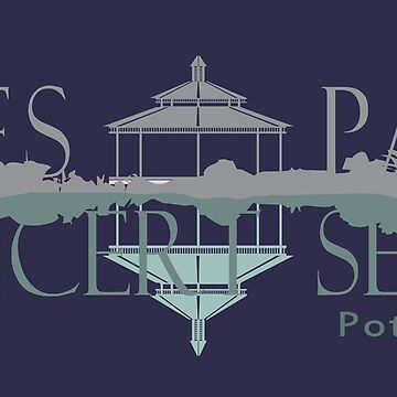 Ives Park Concert Series logo for dark backgrounds by maggiewarmd