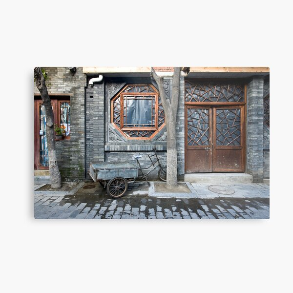 Picturesque chinese facade Metal Print