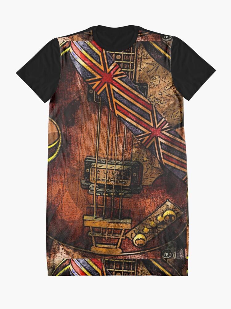 Alternate view of British invasion Graphic T-Shirt Dress