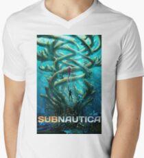 Camiseta de cuello en V subnautica 2