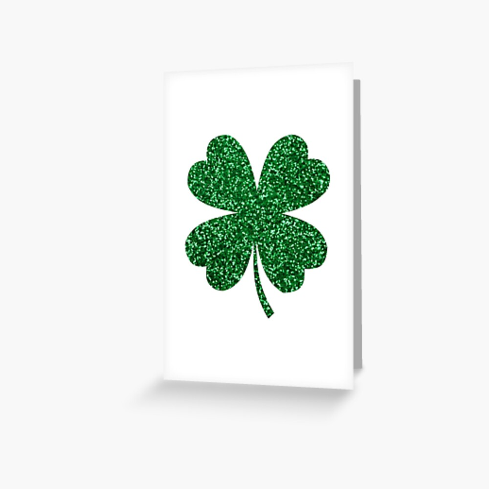 Shamrock Green Irish St Patricks Shamrock Clover Four Leaf