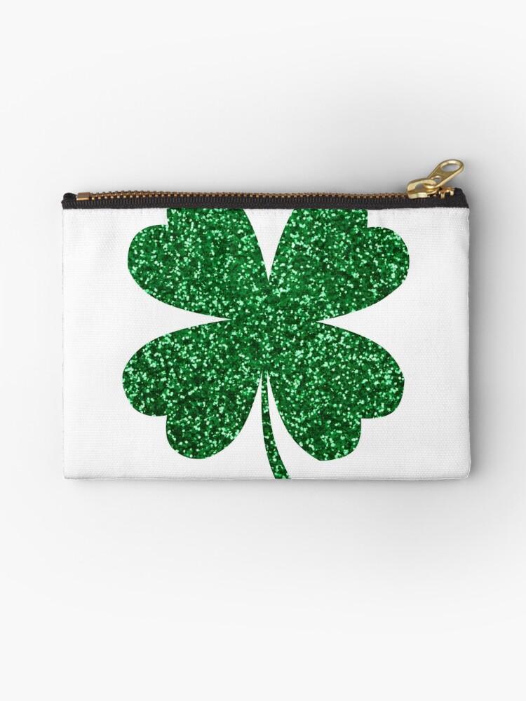 Irish Shamrock Clover Lucky Charm St Patricks Day Hoodie Pullover Sweatshirt