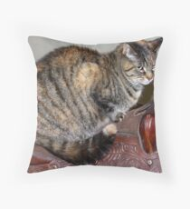 Dreaming to Ride Throw Pillow