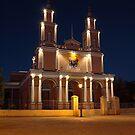 Andacollo's Main Church. by Francisco Larrea