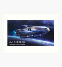 subnautica aurora 2 Art Print