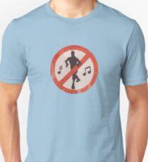 Dance Sign Slim Fit T-Shirt